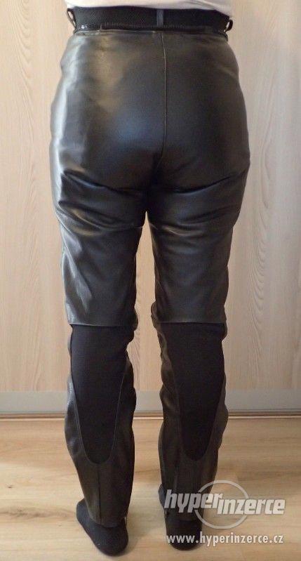 Kožené kalhoty MQP dámské - foto 2