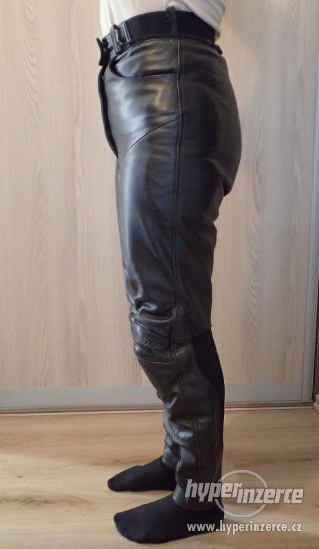 Kožené kalhoty MQP dámské - foto 3