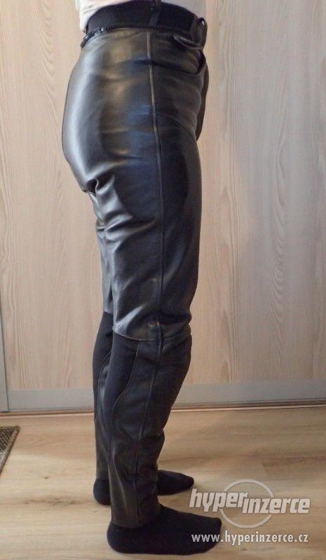 Kožené kalhoty MQP dámské - foto 4