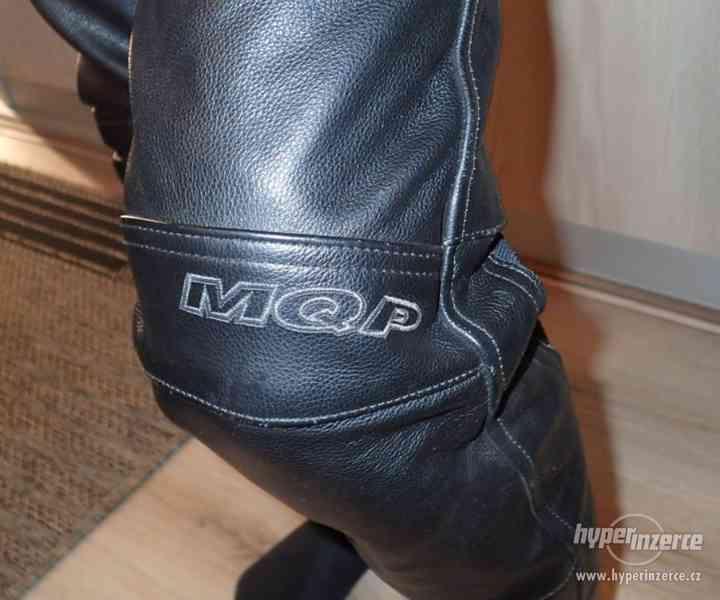 Kožené kalhoty MQP dámské - foto 6