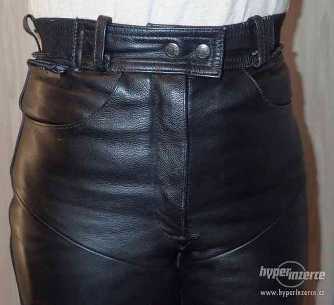 Kožené kalhoty MQP dámské - foto 7