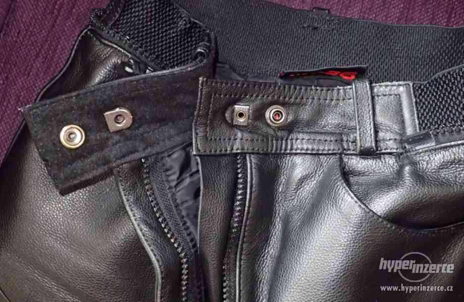 Kožené kalhoty MQP dámské - foto 9