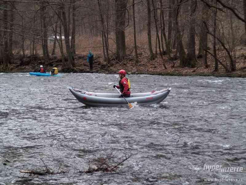 nafukovací kanoe Tramp singl - foto 2