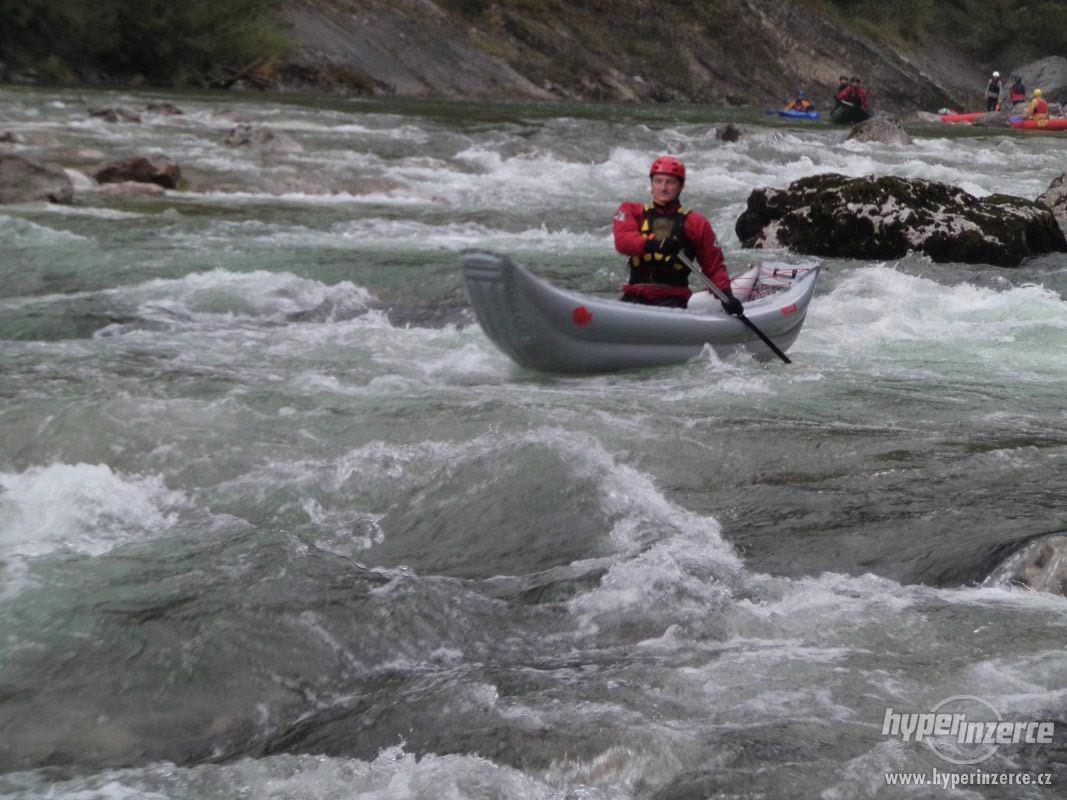 nafukovací kanoe Tramp singl - foto 1