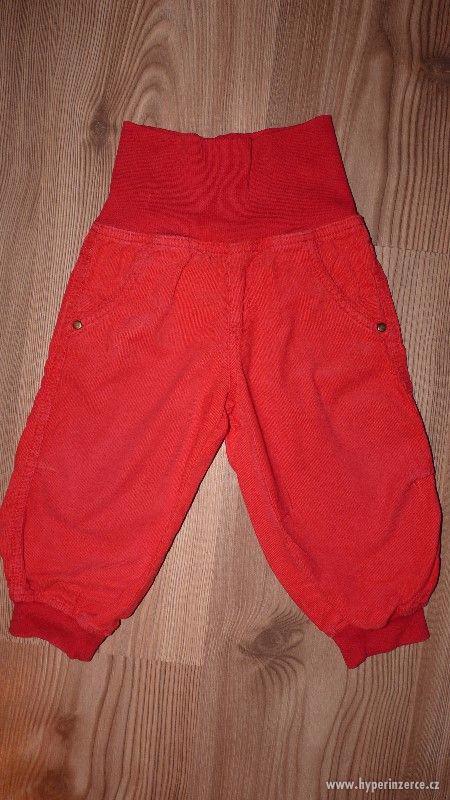 Dětské kalhoty manžestrové