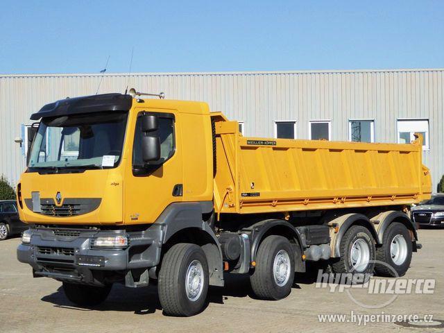 Prodám třístranný sklápěč Renault Kerax 450 8x4 EURO5