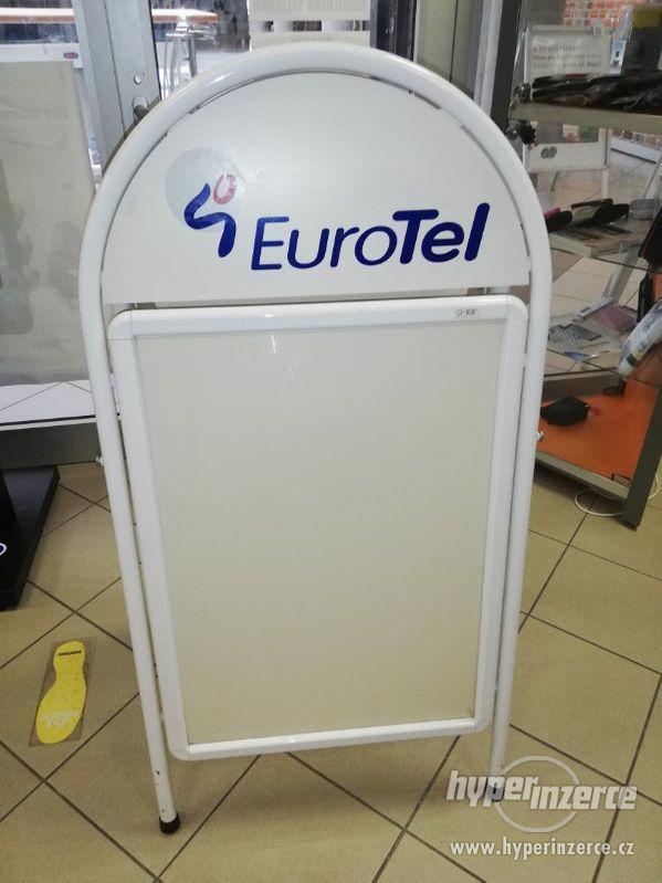 """Reklamní stojan pro obchod typu """" A """" - foto 1"""