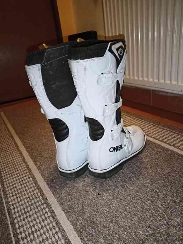 Motokrosové boty Shot vel. 44, nové - foto 2