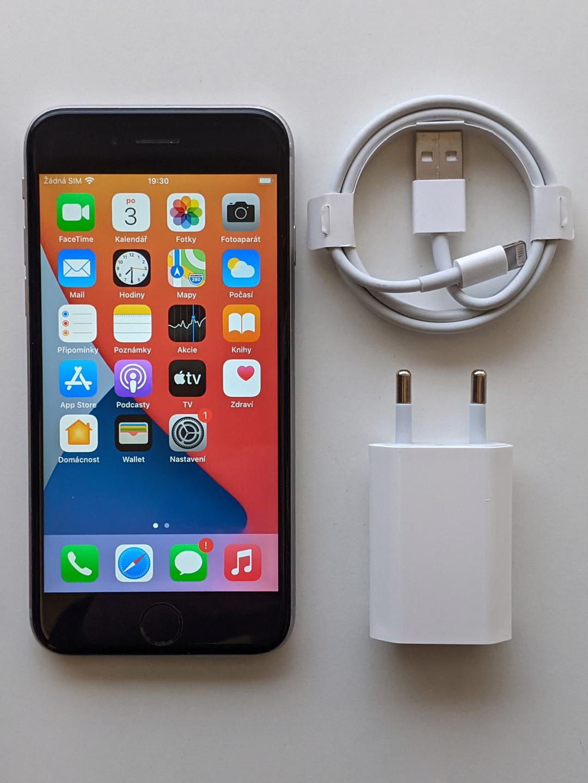 iPhone 6s 32GB šedý, baterie 99% záruka 6 měsícu - foto 1