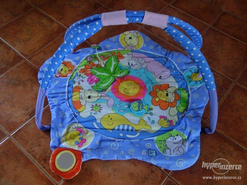 Dětská hrazdička s dekou - BABY MIX - foto 1