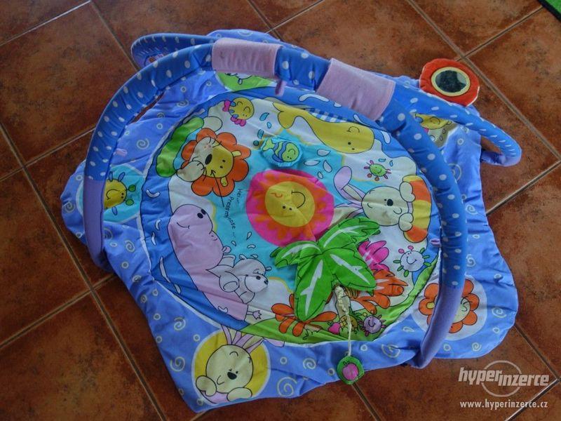 Dětská hrazdička s dekou - BABY MIX - foto 2
