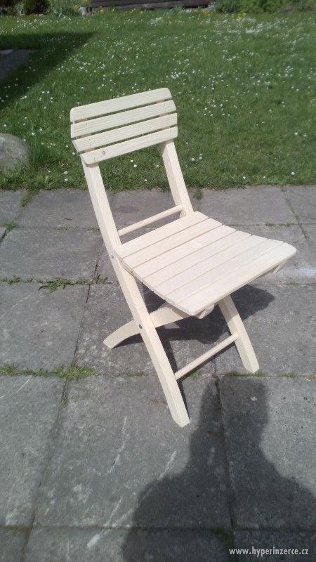 skládací zahradní židle