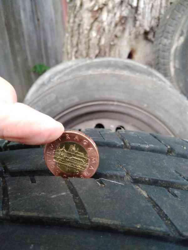 Letní pneu s plechovými disky - foto 3