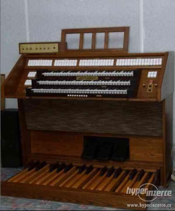 Prodám varhany Johannus Opus 243