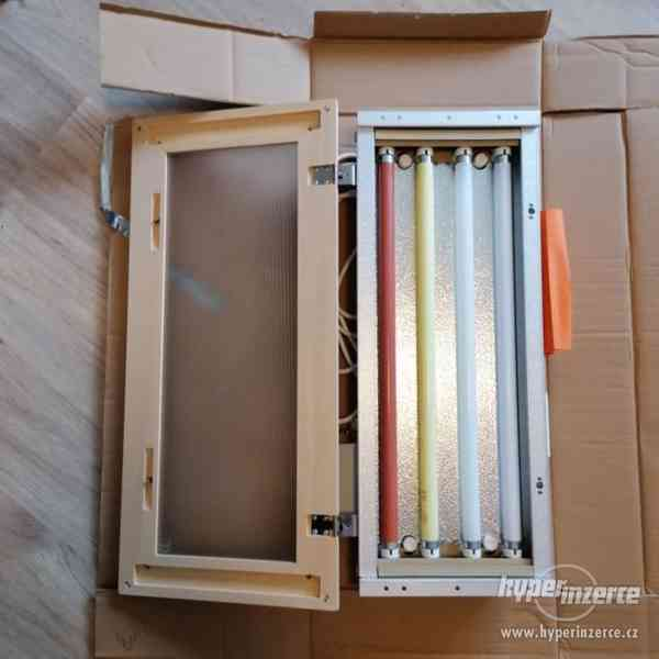 Sauna-světelná terapie do infrasauny+dálkové ovládání - foto 1