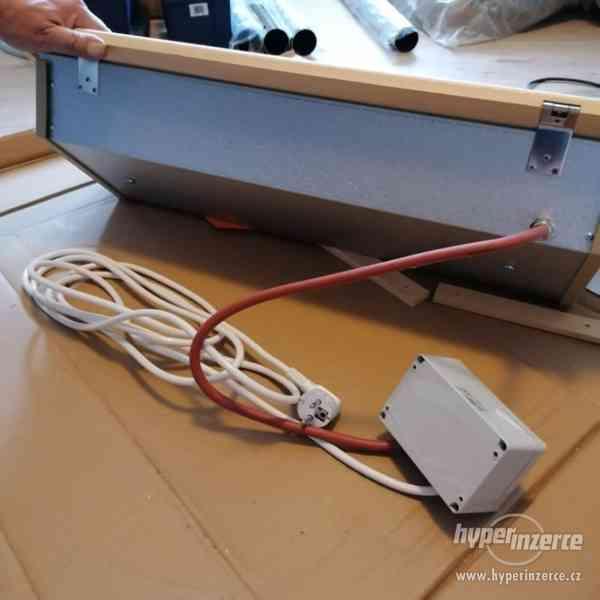 Sauna-světelná terapie do infrasauny+dálkové ovládání - foto 2