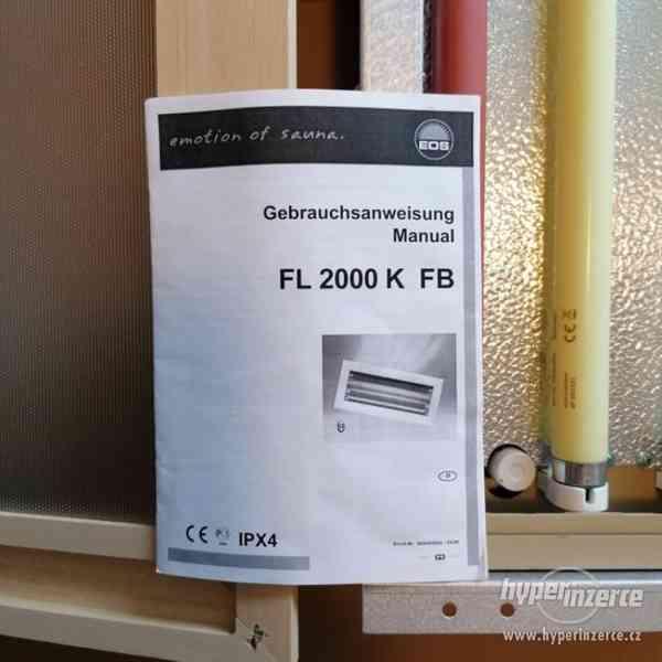 Sauna-světelná terapie do infrasauny+dálkové ovládání - foto 3