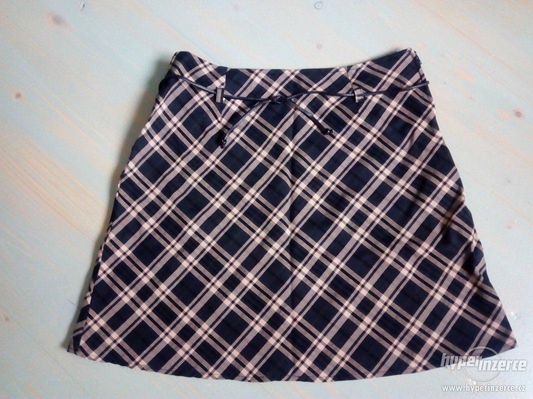 Kostkovaná sukně - foto 1