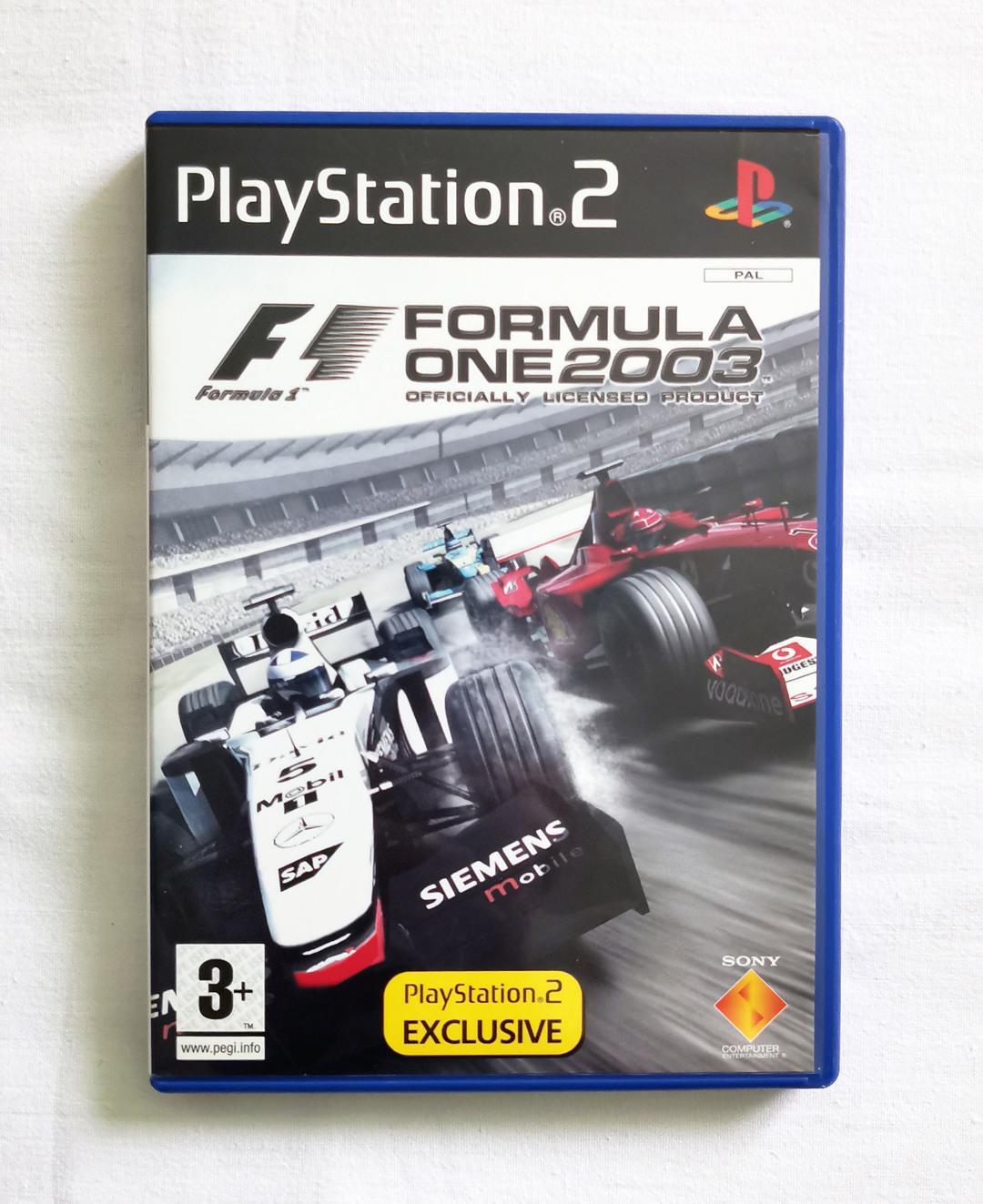 PS2 - Formula One 2003 (F1 2003) - foto 1