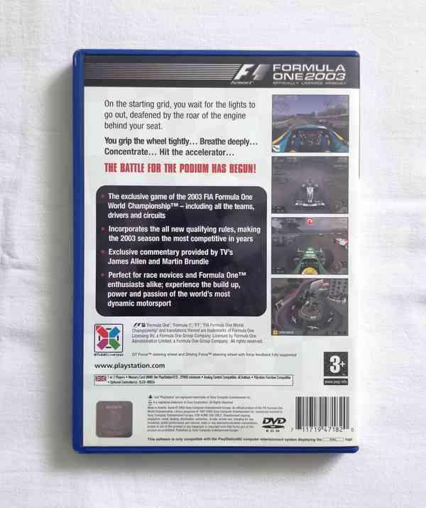 PS2 - Formula One 2003 (F1 2003) - foto 3