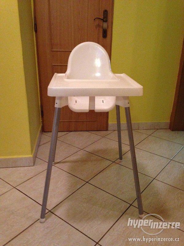 Jídelní stolička pro děti