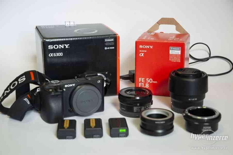 Sony A6300 + Sony FE 50 mm f/1,8 + Sony 16-50 OSS f/3,5-5,6