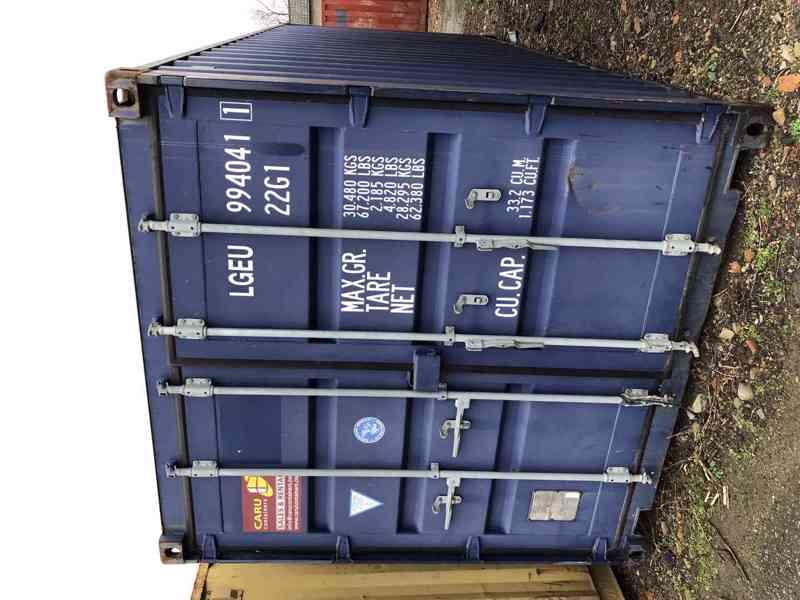 Skladové ISO kontejnery (lodní/námořní) - pronájem