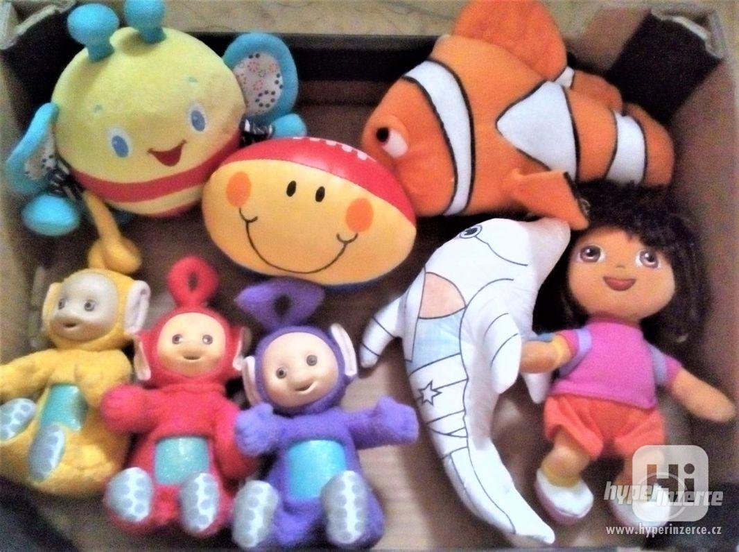hry,plyšáci, jiné hračky,dekorace - LEVNĚ - foto 1