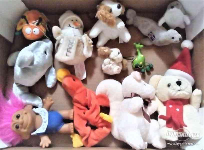 hry,plyšáci, jiné hračky,dekorace - LEVNĚ - foto 3