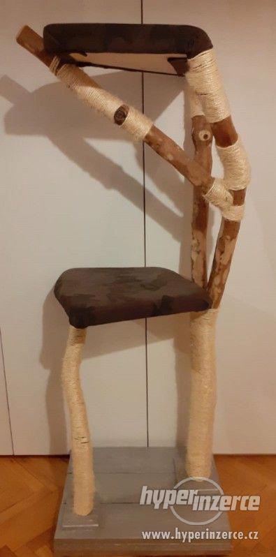Škrabadlo /kočičí strom, 135CM