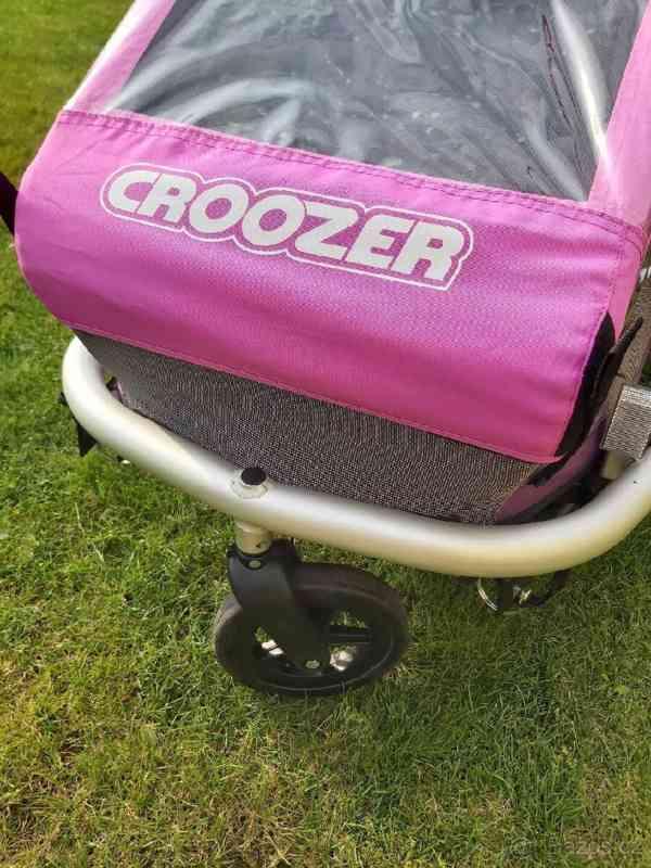 Cyklovozík Croozer Kid for 1 - růžový - foto 3
