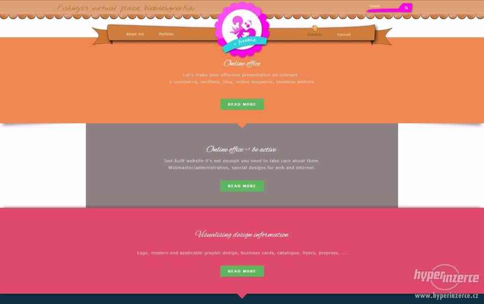 Rychle, levně, mobile-friendly, profi a originalní website