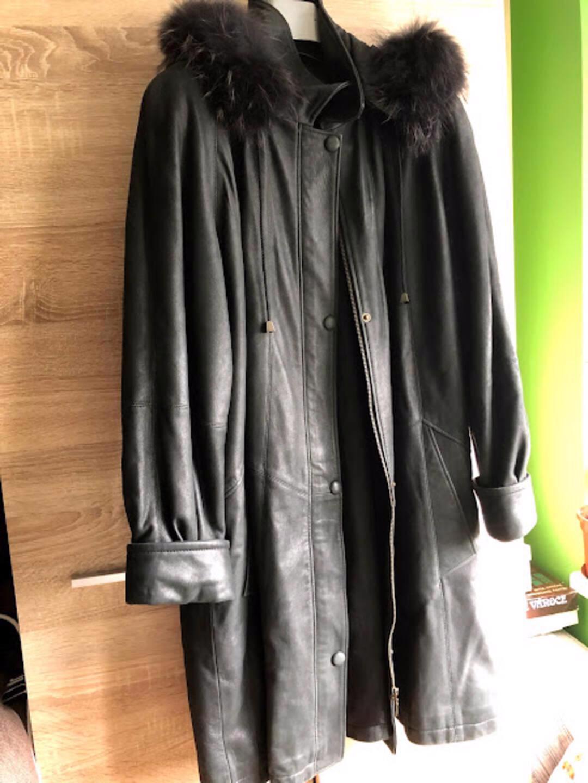 kožený kabát - foto 1