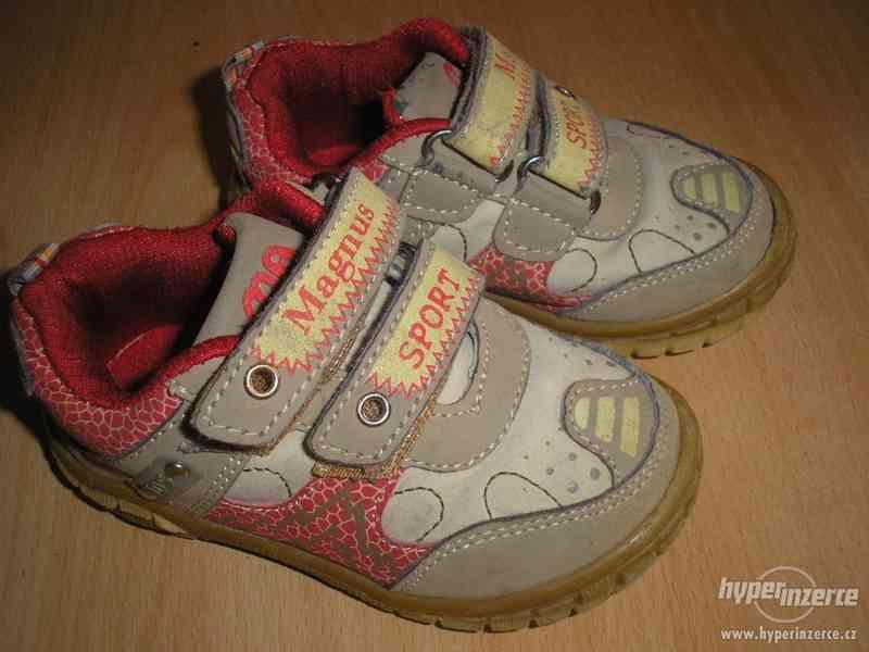 Kožené botičky
