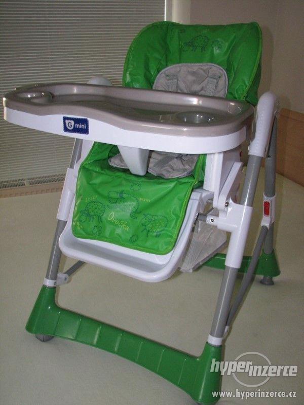 Jídelní židle G-mini Mira ovečka (PRAHA) - foto 1