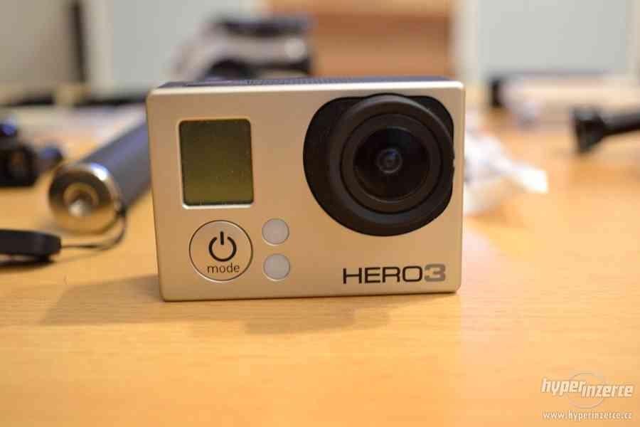 Prodám GoPro Hero 3 Silver plus příslušenství - foto 2