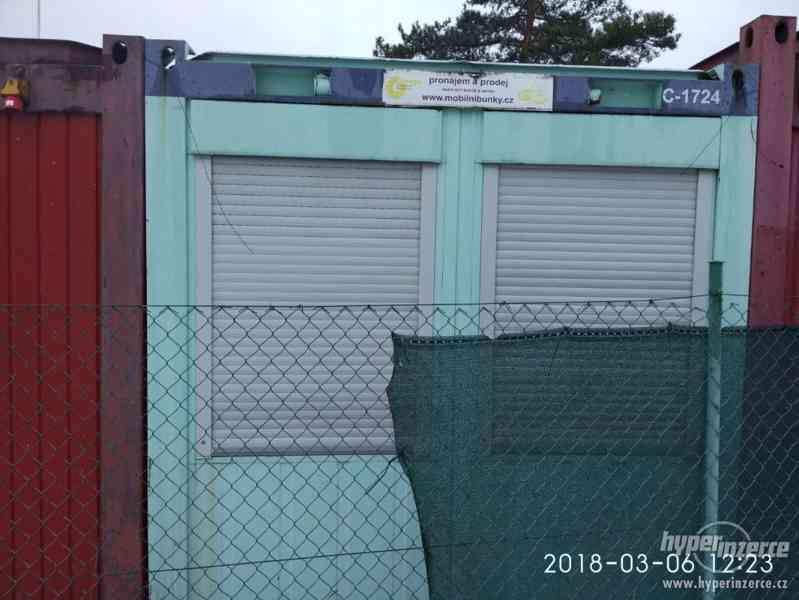 Stavební buňka vs. obytný kontejner, buňka