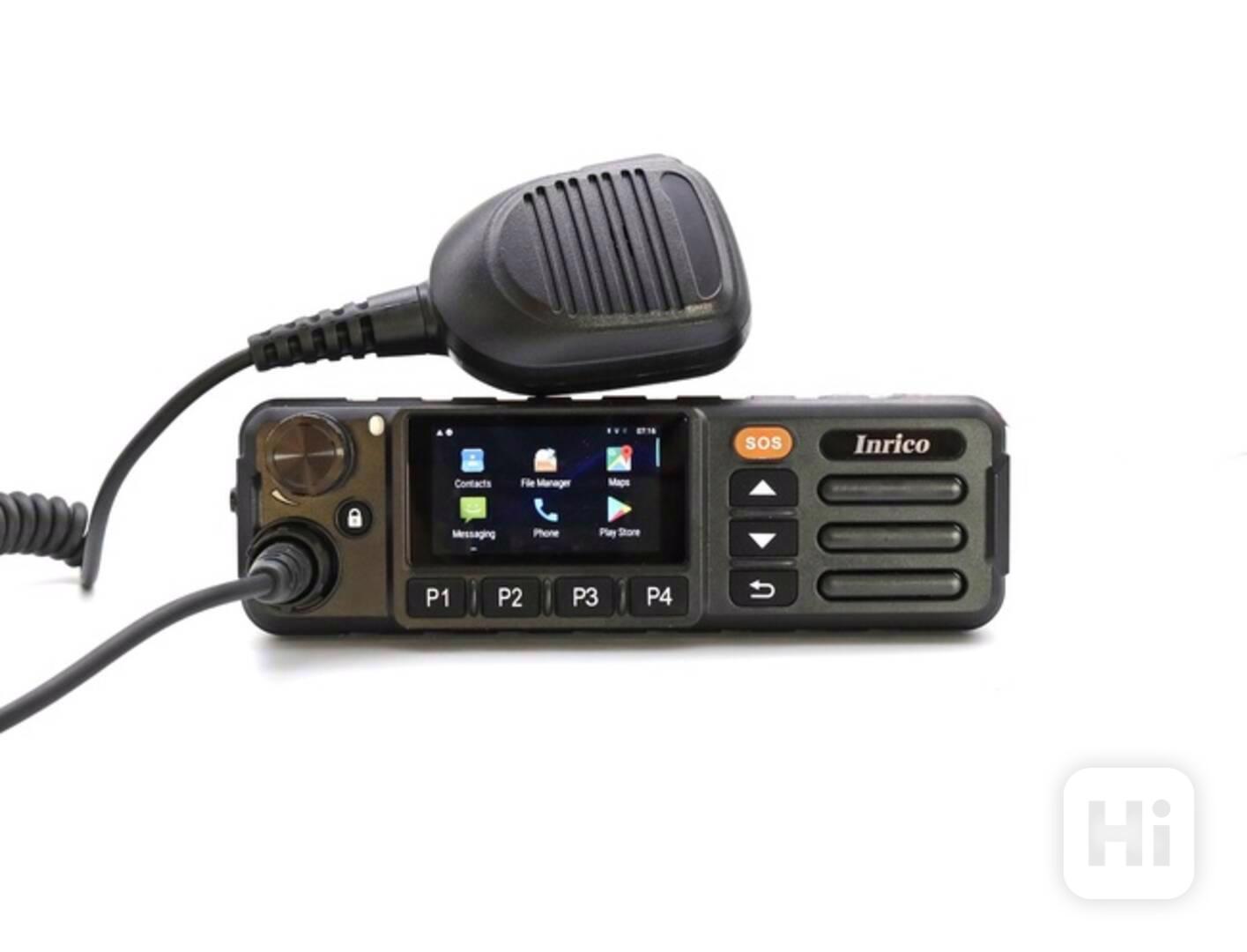 Vozidlová digitální radiostanice Inrico TM-7-PLUS LTE 4G - foto 1