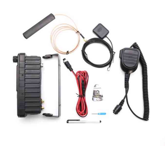 Vozidlová digitální radiostanice Inrico TM-7-PLUS LTE 4G - foto 3