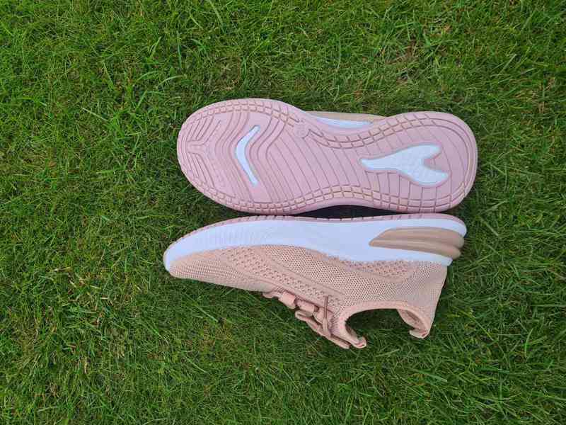 Krásné nové růžové tenisky sneakers vel. 36-41 - foto 2