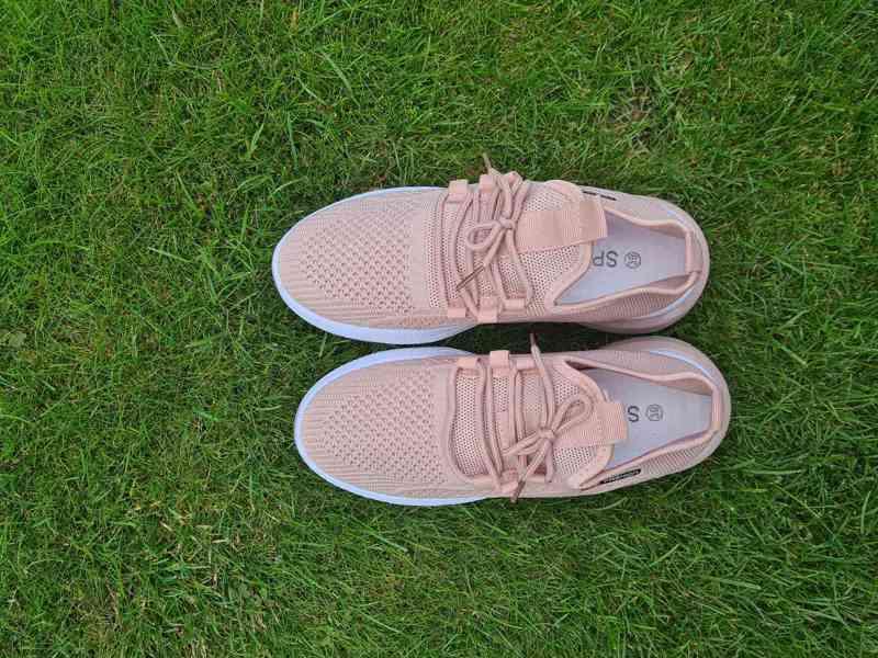 Krásné nové růžové tenisky sneakers vel. 36-41 - foto 4