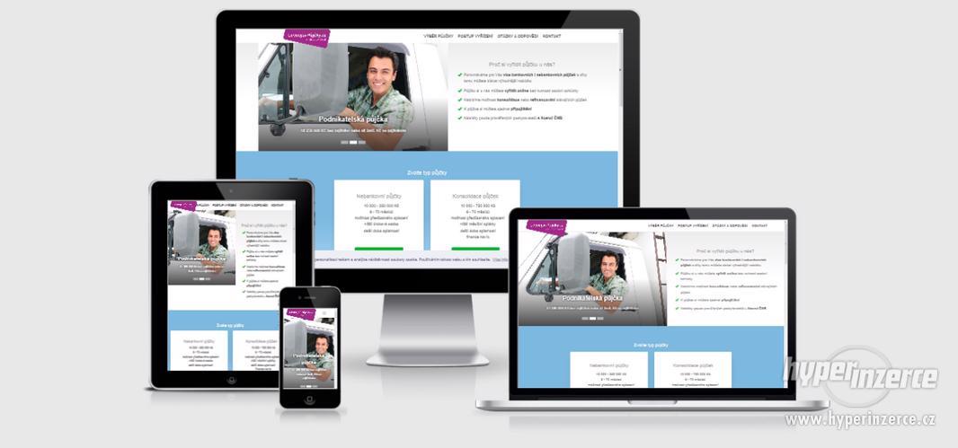 Tvorba webů a e-schopů - Levně - foto 3