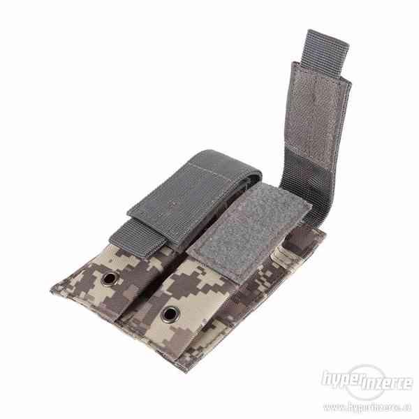 Sumka na 2 pistolové zásobníky - písková - foto 5