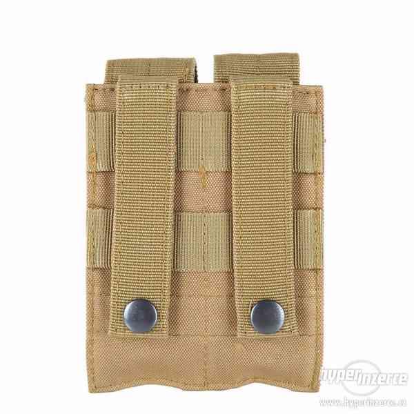 Sumka na 2 pistolové zásobníky - písková - foto 6