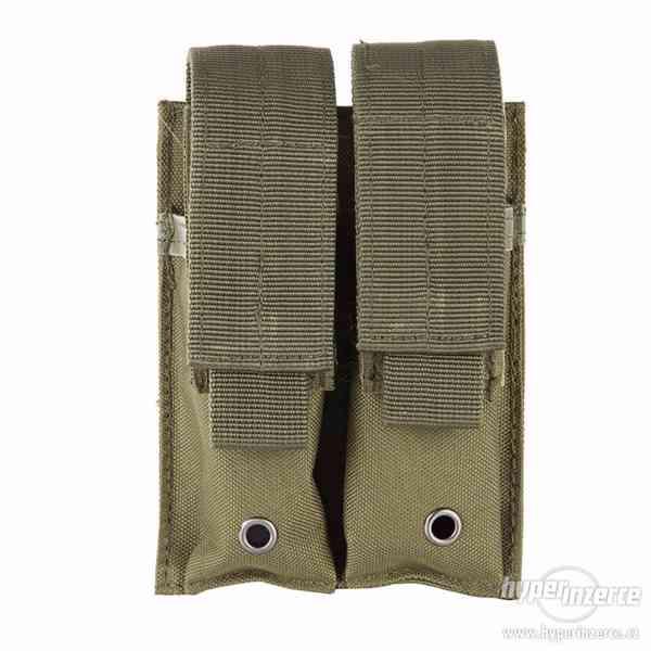 Sumka na 2 pistolové zásobníky - písková - foto 7