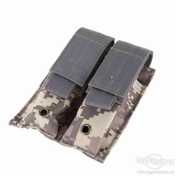Sumka na 2 pistolové zásobníky - písková - foto 11