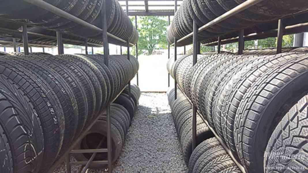 Bazar pneu, zimní pneu, disky, ceny od 250 Kč