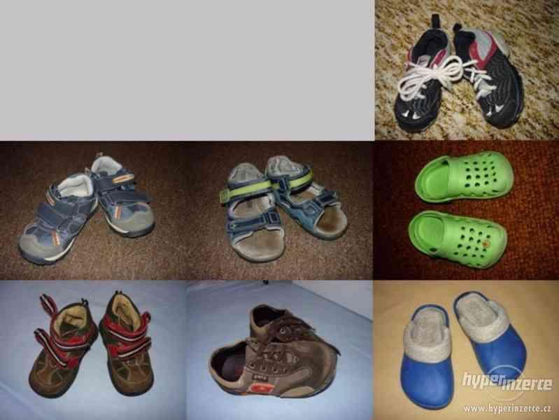 dětské boty 7x