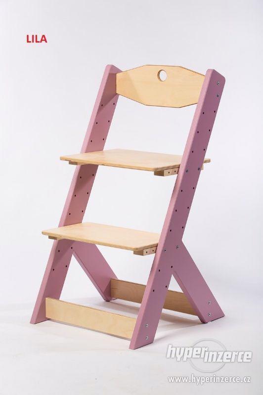 Rostoucí židle OMEGA II - různá barevná kombinace - foto 1