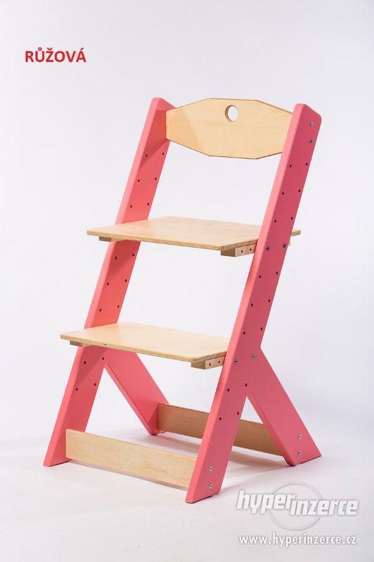 Rostoucí židle OMEGA II - různá barevná kombinace - foto 2